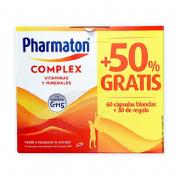Pharmaton complex (66 + 34 capsulas pack promocional)